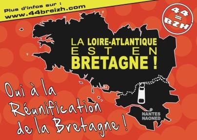 Oui à la réunification de la Bretagne !
