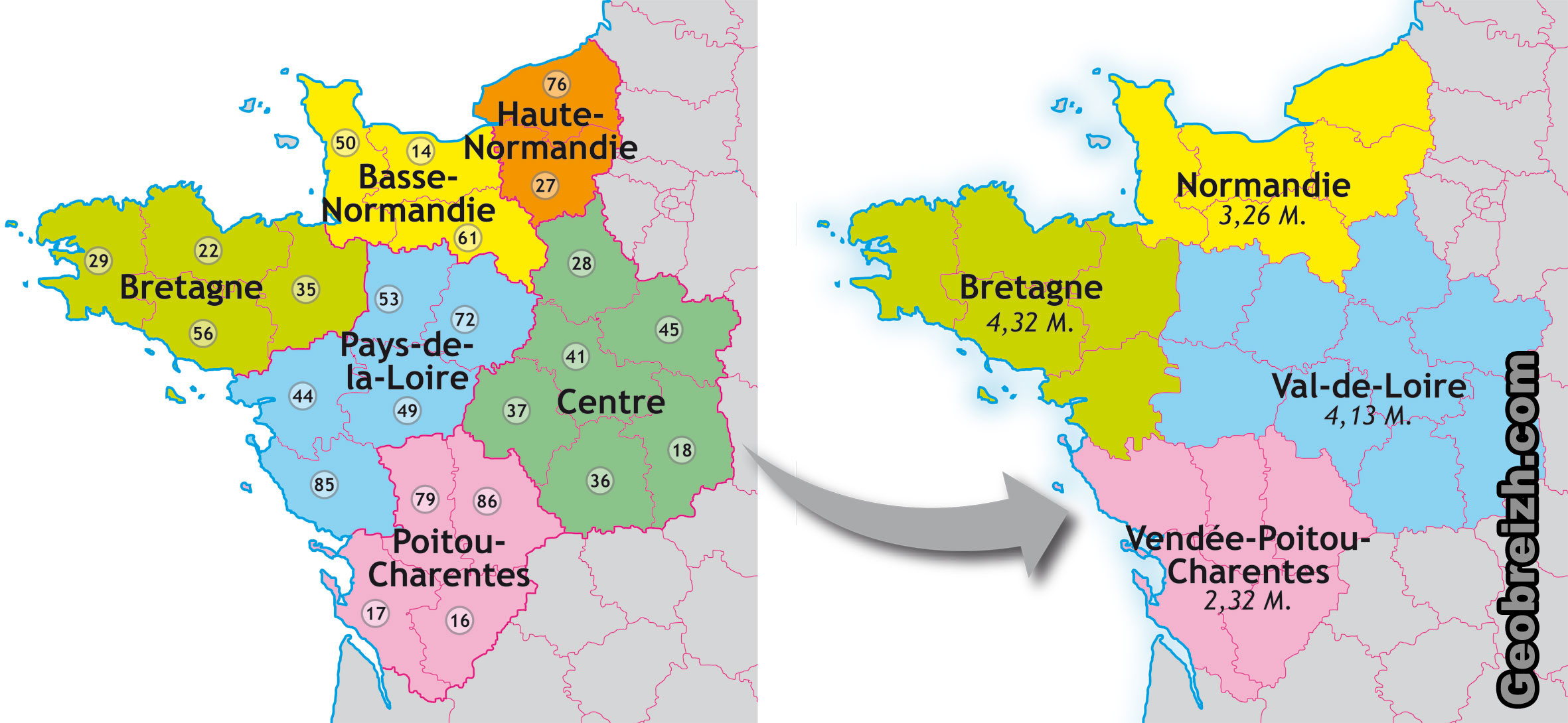 Département | 44=BREIZH - POUR LA RÉUNIFICATION DE LA BRETAGNE