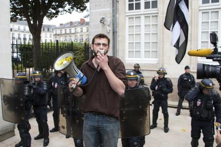 Jonathan Guillaume, porte-parole du collectif 44=BREIZH