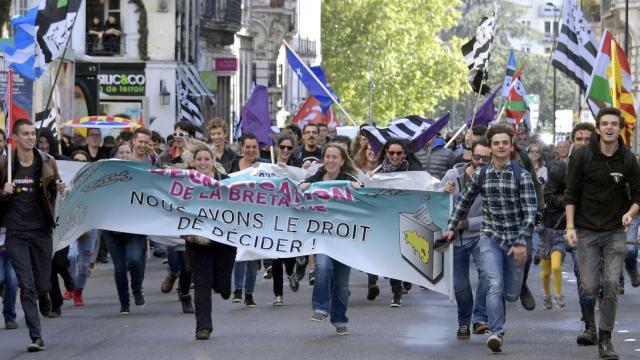La 44Breizh Manif à Nantes : en avant vers l'unité !   44